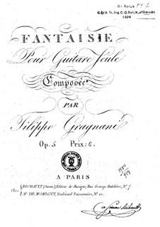 Fantasy, Op.5: Fantasy by Filippo Gragnani