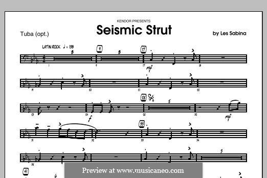 Seismic Strut: Tuba part by Les Sabina