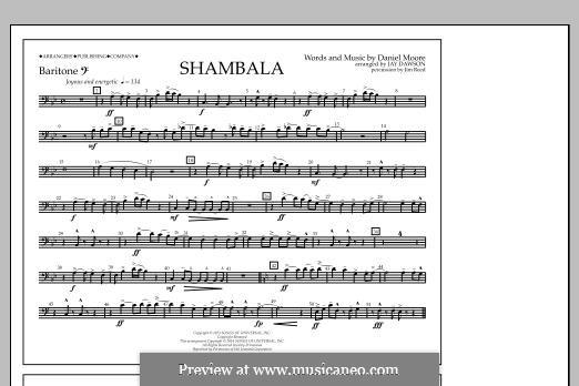 Shambala: Baritone B.C. part by Daniel Moore