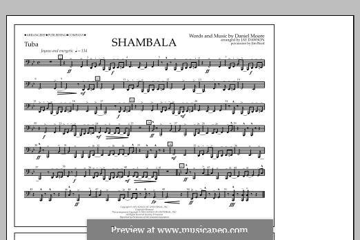 Shambala: Tuba part by Daniel Moore