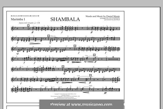 Shambala: Marimba 1 part by Daniel Moore