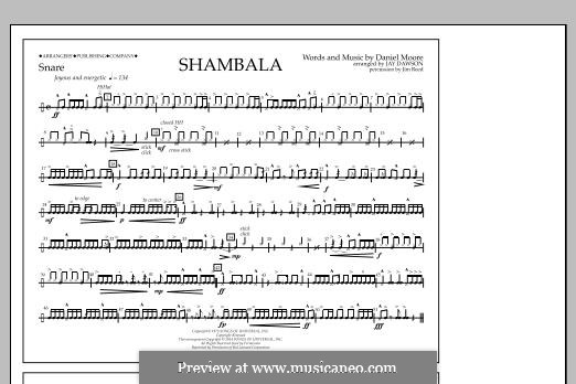 Shambala: Snare part by Daniel Moore