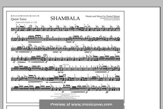 Shambala: Quint-Toms part by Daniel Moore