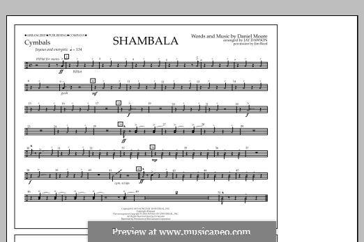 Shambala: Cymbals part by Daniel Moore