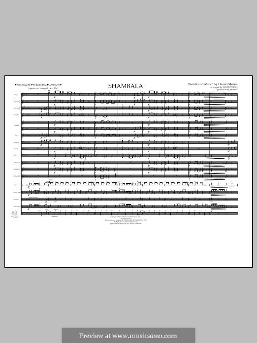 Shambala: Full Score by Daniel Moore