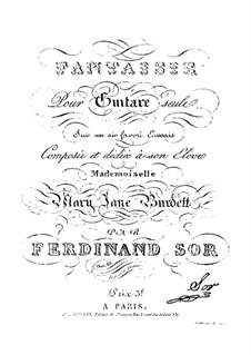 Fantasia in D Major, Op.40: For guitar by Fernando Sor