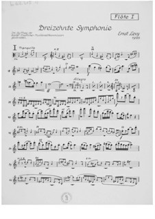 Symphony No.13: Parts by Ernst Levy