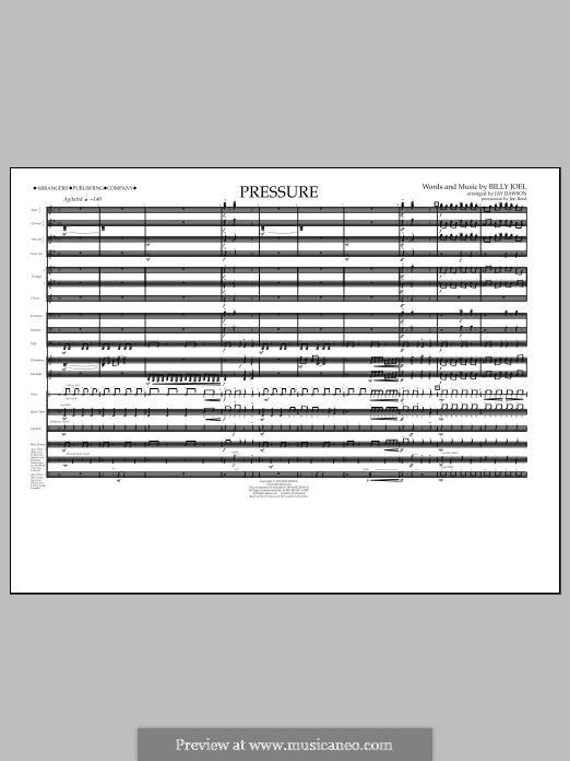 Pressure: Full Score by Billy Joel