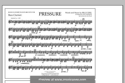 Pressure: Bass Clarinet part by Billy Joel