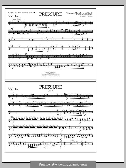Pressure: Marimba part by Billy Joel