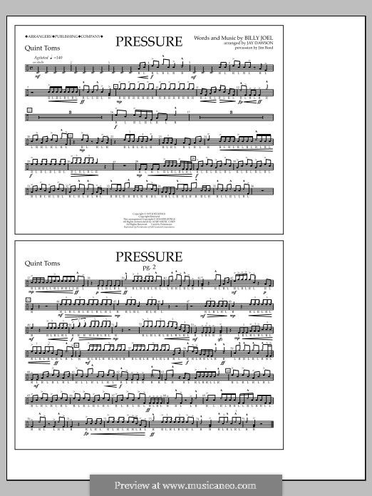 Pressure: Quint-Toms part by Billy Joel