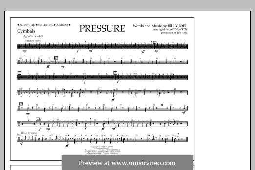 Pressure: Cymbals part by Billy Joel