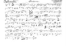 Sardana 'Matinada': For string quartet – parts by Juli Garreta