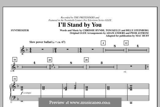 I'll Stand By You (The Pretenders): Synthesizer part by Billy Steinberg, Chrissie Hynde, Tom Kelly