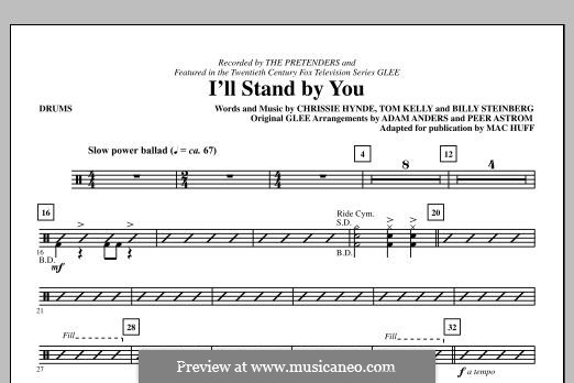 I'll Stand By You (The Pretenders): Drums part by Billy Steinberg, Chrissie Hynde, Tom Kelly