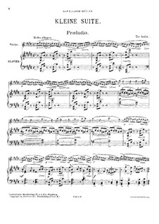 Little Suite for Violin and Piano: Little Suite for Violin and Piano by Tor Aulin