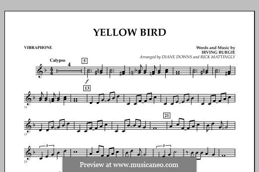 Yellow Bird: Vibes part by Irving Burgie