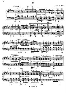 Twenty-Four Octave Etudes, Op.18: Etude No.19 in F Sharp Major by Edmund Neupert