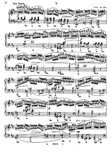 Twelve Etudes, Op.20: Etude No.4 by Edmund Neupert