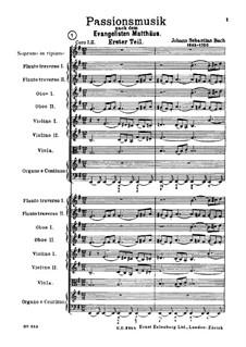 Complete Oratorio: Full score by Johann Sebastian Bach