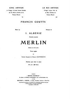 Merlin: Act I by Isaac Albéniz