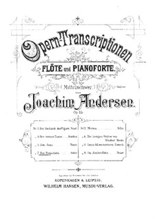 Opera Transcriptions, Op.45: No.7 On Themes from 'Der Freischütz' by Weber by Joachim Andersen