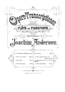 Opera Transcriptions, Op.45: No.6 On Themes from 'Lucia di Lammermoor' by Donizetti by Joachim Andersen