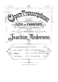 Opera Transcriptions, Op.45: No.5 On Themes from 'Don Giovanni' by Mozart by Joachim Andersen