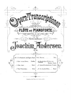 Opera Transcriptions, Op.45: No.4 on Themes form 'The Merry Wives of Windsor' by N. Otto by Joachim Andersen