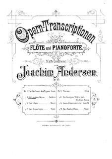 Opera Transcriptions, Op.45: No.3 On Themes from 'White Lady' by Boieldieu by Joachim Andersen