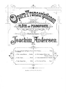 Opera Transcriptions, Op.45: No.1 On Themes from 'The Marriage of Figaro' by Mozart by Joachim Andersen