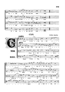 Crux fidelis, inter omnes: Vocal score by Felice Anerio