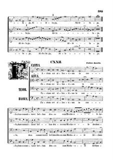 Factum est silentium in coelo: Vocal score by Felice Anerio