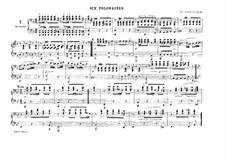 Six Polonaises, D.824 Op.61: For piano four hands by Franz Schubert