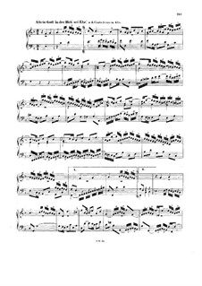 Chorale Preludes IV (German Organ Mass): Gloria. Allein Gott in der Höh' sei Ehr'. Small Version, BWV 675 by Johann Sebastian Bach