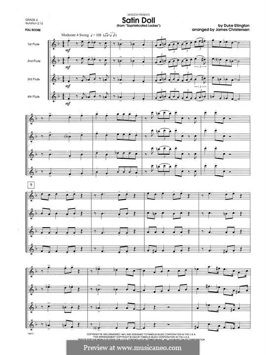 Satin Doll: Full Score by Billy Strayhorn, Duke Ellington
