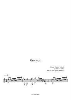 Suite: Gracieux by Johann Michael Kühnel