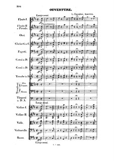 Anacreon, ou L'amour fugitif: Overture by Luigi Cherubini
