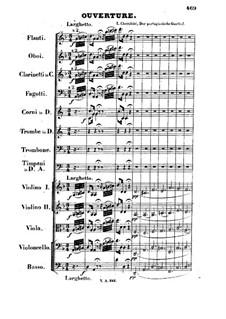 L'hôtellerie portugaise: Overture by Luigi Cherubini