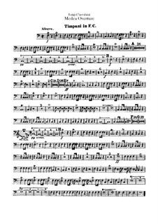 Medea: Overture – Timpani Part by Luigi Cherubini