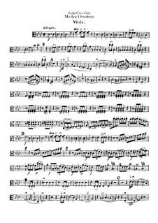 Medea: Overture – Viola Part by Luigi Cherubini