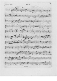 Complete Concerto: Oboe II part by Frédéric Chopin