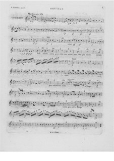 Complete Concerto: French horn II part by Frédéric Chopin