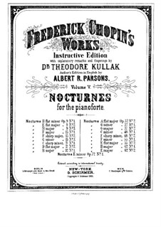 Nocturnes, Op.27: Complete set by Frédéric Chopin