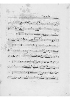 Variations on Theme 'Là ci darem la mano' from 'Don Giovanni' by Mozart, Op.2: Flute I part by Frédéric Chopin