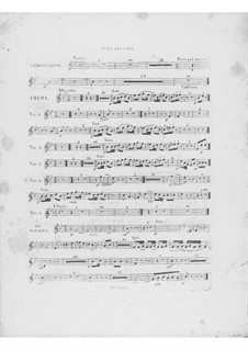 Variations on Theme 'Là ci darem la mano' from 'Don Giovanni' by Mozart, Op.2: Oboe II part by Frédéric Chopin