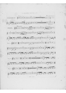 Variations on Theme 'Là ci darem la mano' from 'Don Giovanni' by Mozart, Op.2: Clarinet II part by Frédéric Chopin