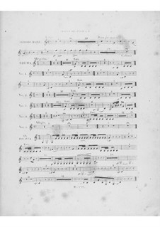 Variations on Theme 'Là ci darem la mano' from 'Don Giovanni' by Mozart, Op.2: French horn II part by Frédéric Chopin