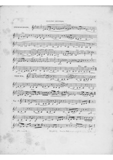 Variations on Theme 'Là ci darem la mano' from 'Don Giovanni' by Mozart, Op.2: Violin II part by Frédéric Chopin