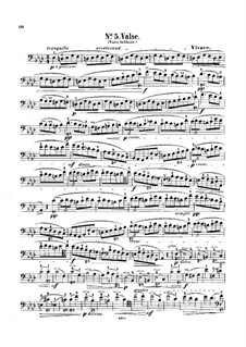 No.1 in D Flat Major: For cello and piano – solo part by Frédéric Chopin